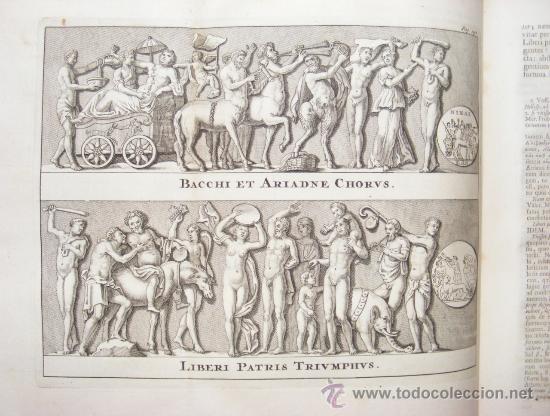 Libros antiguos: HISTORIA DE ALEJANDRO MAGNO, JUEGO DE 2 Grandes VOLUMENES, año 1724, En Latín. (25,5 x 20,5 x4,5 cm) - Foto 8 - 23598302