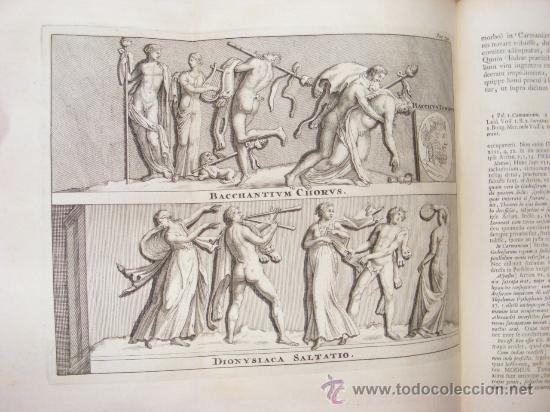 Libros antiguos: HISTORIA DE ALEJANDRO MAGNO, JUEGO DE 2 Grandes VOLUMENES, año 1724, En Latín. (25,5 x 20,5 x4,5 cm) - Foto 10 - 23598302