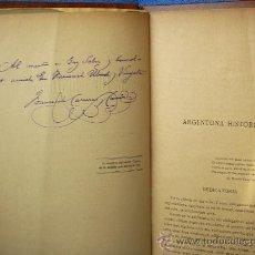 Libros antiguos: AUTOGRAFO-DEDICATORIA DE F.CARRERAS Y CANDI,ARGENTONA A F.UBACH Y VINYETA, TIANA-BARCELONA-1891. Lote 26670428