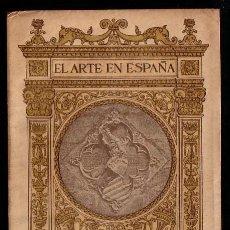 Libros antiguos: MONASTERIO DE POBLET * 48 FOTOGRAFIAS * CIRCA 1915 * ARTE EN ESPAÑA. Lote 24153614