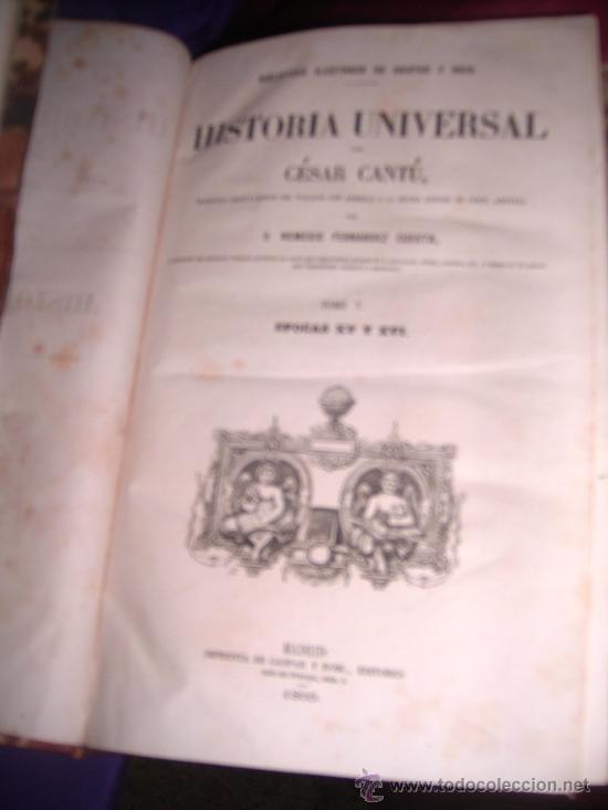 Libros antiguos: historia universal - Foto 2 - 24412430