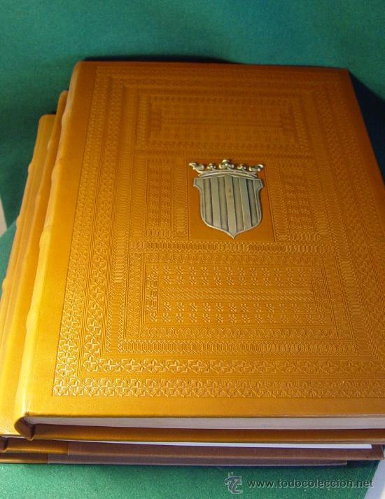 Libros antiguos: ELS FURS. FACSIMIL. VICENT GARCÍA EDITORES. EDICIÓN LUJO NUMERADA. 3 TOMOS. VALENCIA 1976 - Foto 3 - 27187782