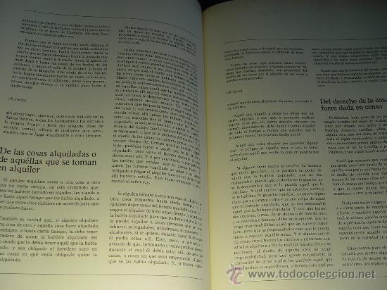 Libros antiguos: ELS FURS. FACSIMIL. VICENT GARCÍA EDITORES. EDICIÓN LUJO NUMERADA. 3 TOMOS. VALENCIA 1976 - Foto 12 - 27187782