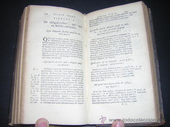 Libros antiguos: 1689 - ANTONIO PEREZ - INSTITUTIONES IMPERIALES - Foto 7 - 25953543