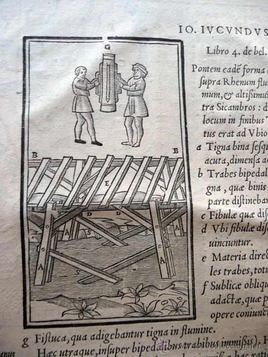 Libros antiguos: CAESARIS RERUM AB SE GESTARUM COMMENTARI - PARIS 1543 - Foto 2 - 30349193