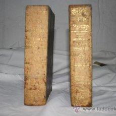Libros antiguos: 1709- HISTORIA GENERAL DE LA IGLESIA EN ESPAÑA RAMON BULDU TOMOS III Y IV 1858.. Lote 26427665