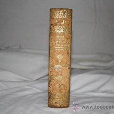 Libros antiguos: 1494- HISTORIA GENERAL DELA IGLESIA TOMO I 1852.BERNAULT BERCASTEL. IMP. PONS. Lote 26428574