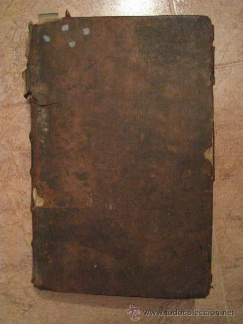 Libro antiguo 1680 santo tomas gran folio en pi - Vendido
