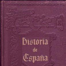 Libros antiguos: HISTORIA GENERAL DE ESPAÑA. TOMO TERCERO. MODESTO LAFUENTE. AÑOS 976 A 1217.. Lote 27765791
