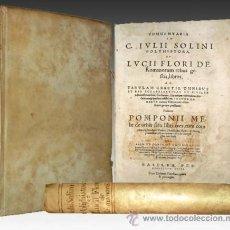 Libros antiguos: 1550C - COMENTARIOS A LA HISTORIA DE ROMA - POST INCUNABLE . Lote 27961582