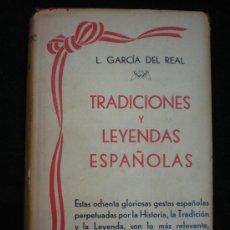 Libros antiguos: LIBRO. TRADICIONES Y LEYENDAS ESPAÑOLAS. 2 TOMOS EN UN VOLUMEN. BARCELONA, 1898.. Lote 27967821