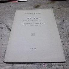 Libros antiguos: 1269.-LOS CODICES VISIGOTICOS DE LA CATEDRAL TOLEDANA-AGUSTIN MILLARES-CLAUDIO SANCHEZ ALBORNOZ. Lote 28286125