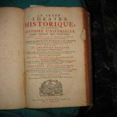 Libros antiguos: LE GRAND THÈATRE HISTORIQUE OU NOUVELLE HISTOIRE UNIVERSELLE TANT SACREE QUE PROFANE. 1703. . Lote 28714204