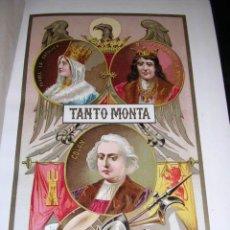 Libros antiguos: HISTORIA DEL DESCUBRIMIENTO DE AMÉRICA. DOS TOMOS EMILIO CASTELAR MUCHAS ILUSTRACIONES MADRID 1880. Lote 28727325