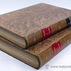 Libros antiguos: EL LIBRO DE LAS MADRES, FRANCISCO NACENTE. 2 VOL. 1880 APROX. 32X23 CM. . Lote 28785358