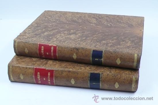 Libros antiguos: El libro de las madres, Francisco Nacente. 2 vol. 1880 aprox. 32x23 cm. - Foto 8 - 28785358