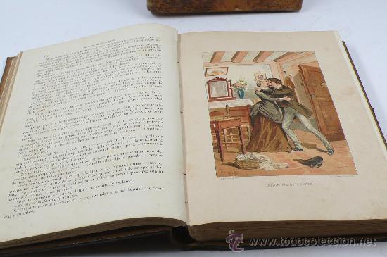 Libros antiguos: El libro de las madres, Francisco Nacente. 2 vol. 1880 aprox. 32x23 cm. - Foto 5 - 28785358