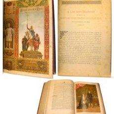 Libros antiguos: 1887 HISTORIA DE ESPAÑA - 4 TOMOS - CROMOLITOGRAFIAS GRABADOS 34 CM - MIGUEL MORAYTA. Lote 28947261