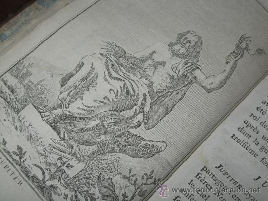 Libros antiguos: Élémens de Mythologie, Bassville, 1789. Posee 38 grabados - Foto 9 - 29356023