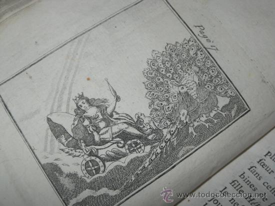 Libros antiguos: Élémens de Mythologie, Bassville, 1789. Posee 38 grabados - Foto 10 - 29356023