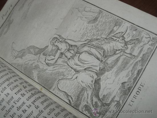 Libros antiguos: Élémens de Mythologie, Bassville, 1789. Posee 38 grabados - Foto 16 - 29356023