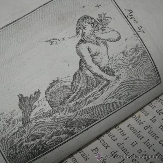 ÉLÉMENS DE MYTHOLOGIE, BASSVILLE, 1789. POSEE 38 GRABADOS (Libros antiguos (hasta 1936), raros y curiosos - Historia Antigua)