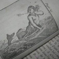 Libros antiguos: ÉLÉMENS DE MYTHOLOGIE, BASSVILLE, 1789. POSEE 38 GRABADOS. Lote 29356023