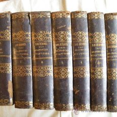 Libros antiguos: LOS HEROES Y LAS GRANDEZAS DE LA TIERRA. MANUEL ORTIZ DE LA VEGA. 1854.. Lote 30064208
