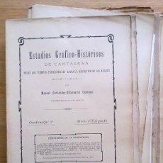 Libros antiguos: COLECCION CUADERNOS 1905 ESTUDIOS HISTORICOS CARTAGENA 1500 A.C-1492 D.C. VILLAMARZO. Lote 30132604