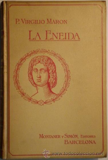 LA ENEIDA VIRGILIO MARON, P. (Libros antiguos (hasta 1936), raros y curiosos - Historia Antigua)