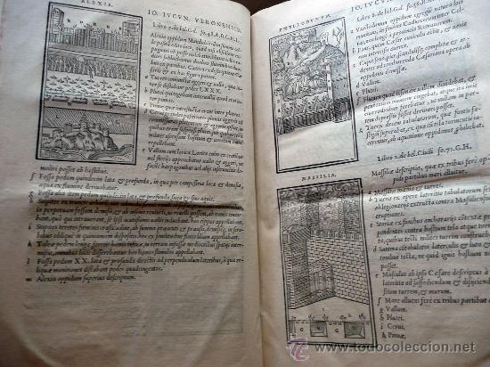 Libros antiguos: CAESARIS RERUM AB SE GESTARUM COMMENTARI - PARIS 1543 - Foto 6 - 30349193