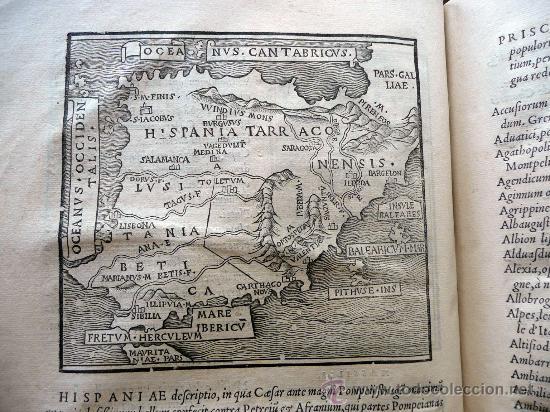 Libros antiguos: CAESARIS RERUM AB SE GESTARUM COMMENTARI - PARIS 1543 - Foto 16 - 30349193