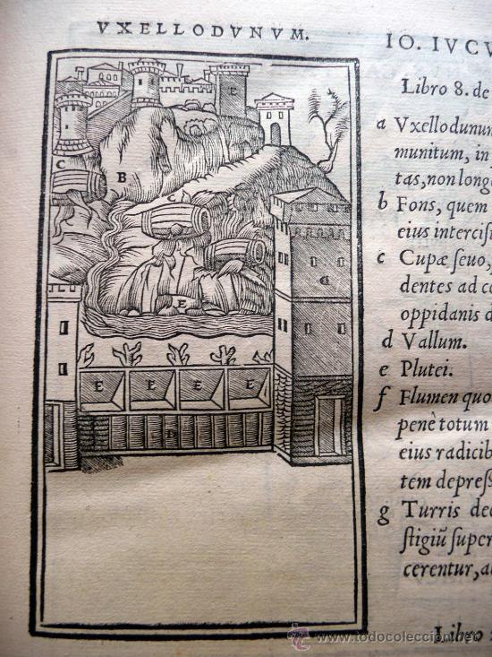 Libros antiguos: CAESARIS RERUM AB SE GESTARUM COMMENTARI - PARIS 1543 - Foto 14 - 30349193