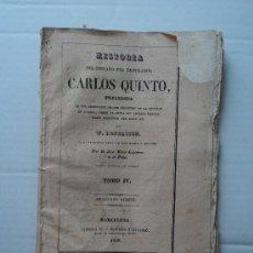Libros antiguos: CARLOS V.. Lote 30596257