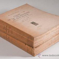 Libros antiguos: LIBRO - LLIBRE DE LES SOLEMNITATS DE BARCELONA, VOL.I-II.,DURAN I SANPERE I JOSEP SANABRE, 1930-1947. Lote 30640133