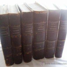 Libros antiguos: HISTORIA UNIVERSAL - ONCKEN - MONTANER Y SIMÓN - BARCELONA - AÑO 1890 - 6 TOMOS. Lote 30654324