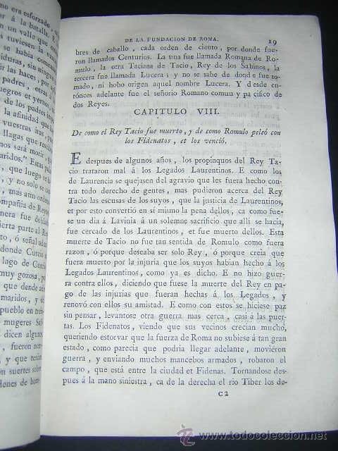 Libros antiguos: 1793 - DECADAS DE TITO LIVIO TRADUCIDAS POR PEDRO DE VEGA - DECADA PRIMERA - Foto 6 - 30702612