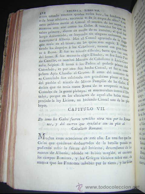 Libros antiguos: 1793 - DECADAS DE TITO LIVIO TRADUCIDAS POR PEDRO DE VEGA - DECADA PRIMERA - Foto 8 - 30702612