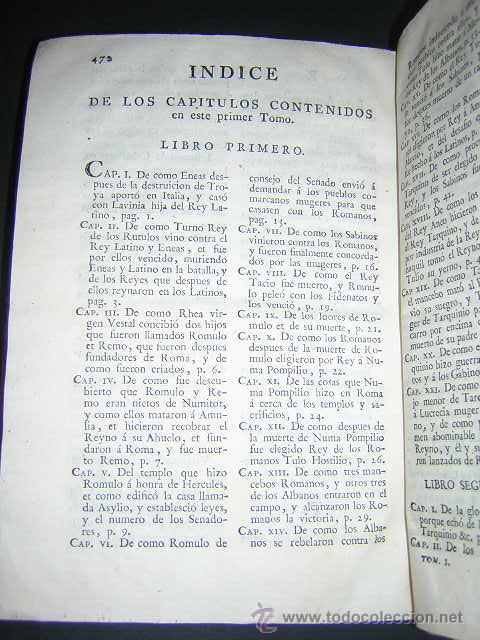 Libros antiguos: 1793 - DECADAS DE TITO LIVIO TRADUCIDAS POR PEDRO DE VEGA - DECADA PRIMERA - Foto 9 - 30702612