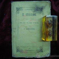 Libros antiguos: LAMARTINE.EL CIVILIZADOR O HISTORIA DE LA HUMANIDAD. FOLIO. 1858. 1A EDICIÓN.. Lote 30741649