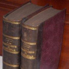 Libros antiguos: LOS COMENTARIOS DE CAYO JULIO CÉSAR 2T POR MANUEL DE VALBUENA DE IMPRENTA REAL EN MADRID 1798 2ª ED.. Lote 55893773