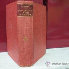 Libros antiguos: LIBRE DELS FEYTS DARMES DE CATALUNYA - AÑO 1873 POR BERNAT BOADES . Lote 31068164