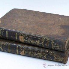 Libros antiguos: LAS CALLES DE BARCELONA, VÍCTOR BALAGUER, 2 TOMOS. AÑO 1865. . Lote 31106003