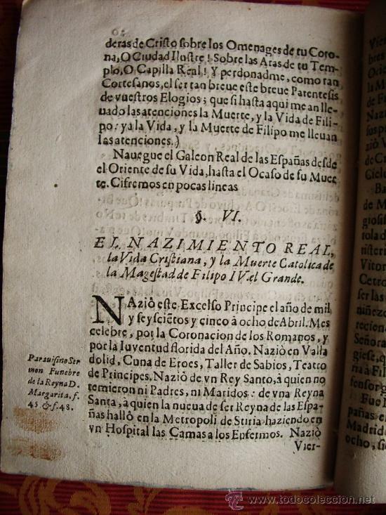 Libros antiguos: 1668c – CRÓNICA-REQUIEM DEL REY FELIPE IV. ESPAÑA. RARA Y MUY ESCASA.PUEDE PAGARSE A PLAZOS - Foto 9 - 26691844