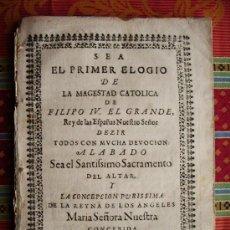 Libros antiguos: 1668C – CRÓNICA-REQUIEM DEL REY FELIPE IV. ESPAÑA. RARA Y MUY ESCASA.PUEDE PAGARSE A PLAZOS. Lote 26691844