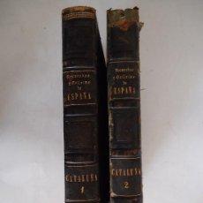 Libros antiguos: 'RECUERDOS Y BELLEZAS DE ESPAÑA.PRINCIPADO DE CATALUÑA' P. PIFERRER 2 TOMOS 1839 -CON DEFECTOS-. Lote 31214224