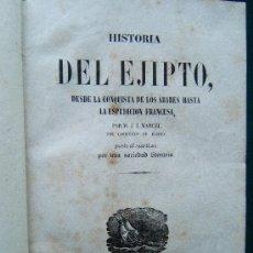 Alte Bücher - HISTORIA DEL EJIPTO+CARTAGO+ISLAS DE AFRICA+MADAGASCAR, BORBON, MAURICIO - PANORAMA UNIVERSAL-1845 ? - 31323477
