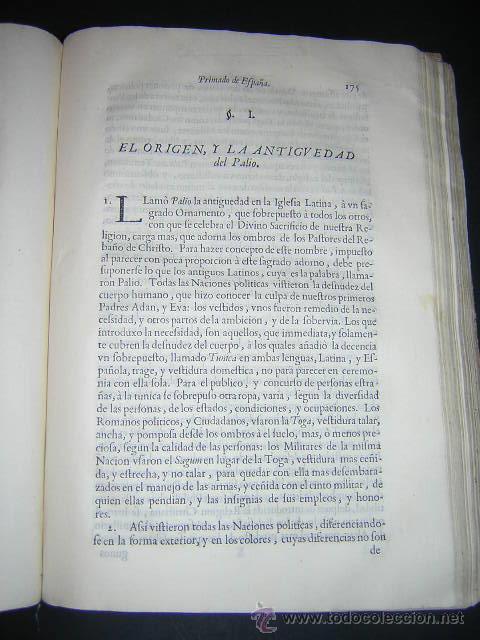 Libros antiguos: 1722 - MEMORIAL A FELIPE V POR LA PRIMACIA DE LAS ESPAÑAS DE LA IGLESIA DE SEVILLA - Foto 6 - 31613976