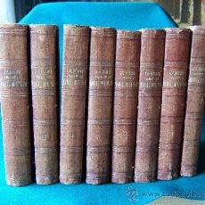 Libros antiguos: LOS HEROES Y LAS MARAVILLAS DEL MUNDO...-DIEGO DE MORA Y CASARUSA-COMPLETA 8 TOMOS- 1854/56 - 1ª ED.. Lote 31764257