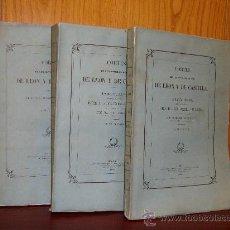 Libros antiguos: 1882-83-84 CORTES DE LOS ANTIGUOS REINOS DE LEÓN Y DE CASTILLA, . Lote 32125629